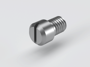 Slotted shoulder screw to DIN 927 in Steel 14H, Stainless Steel A1