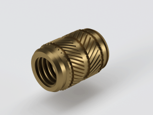 Symetrical Heat Ultrasonic Brass Inserts