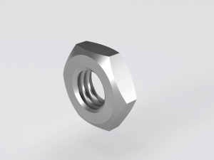 Hexagon Think Lock Nuts Distributors to DIN 439 / DIN936